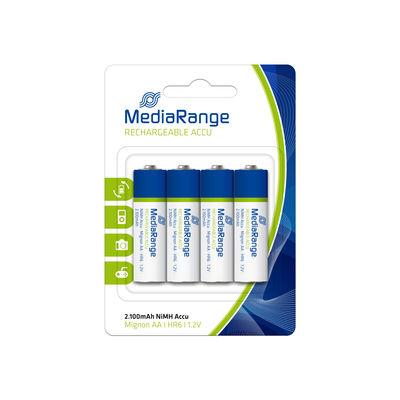 BLISTER DE 4 PILES RECHARGEABLES NiMH Accus, Mignon AA-HR6-1.2V
