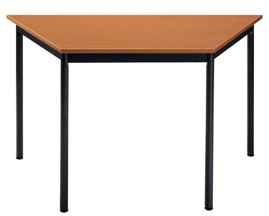 TABLE REUNION TRAPEZOIDALE L120XP60X60 CM