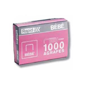 BTE 1000 AGRAFES BEBE RAPID