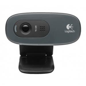 Webcam - Logitech - Résolution 3 MP - Microphone intégré