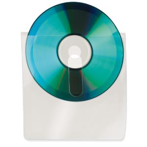 SAC 10 POCHETTES  CD ADHESIVES