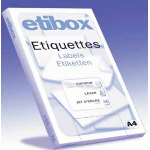 100 FLES ETIQUETTES 105X148MM