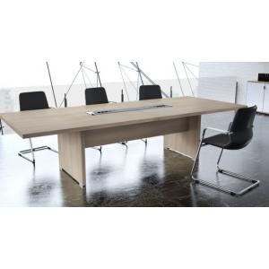 TABLE DE REUNION RECTANGULAIRE L.160XP80 CM MERISIER