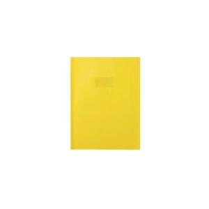PROTEGE CAHIER PVC 21X29.7 OP JAUNE 220 MIC