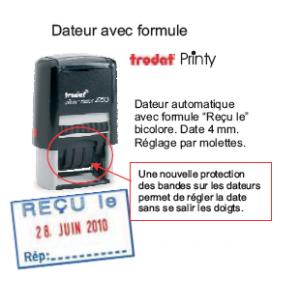 DATEUR PRINTY 4MM + RECU LE