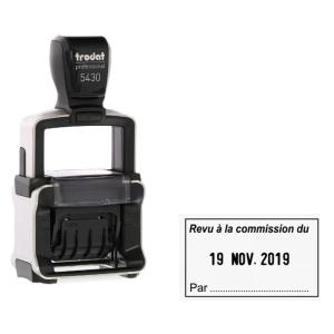 TAMPON TRODAT - DATEUR 5430