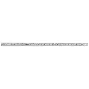 REGLET METAL INOX  FLEXIBLE 2 FACES 30 CM